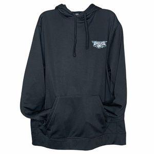 Philadelphia Eagles Black Hoodie Men's Size XL